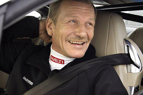 Neuer Rekord: Juha Kankkunen freut sich auf den Guinness-Eintrag.