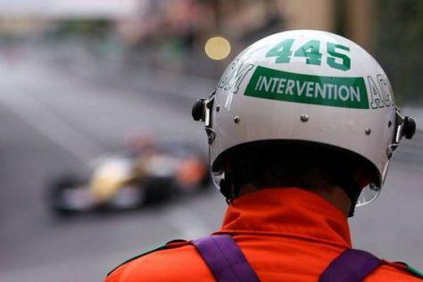 Die britischen Streckenposten sollen in Abu Dhabi für Sicherheit sorgen