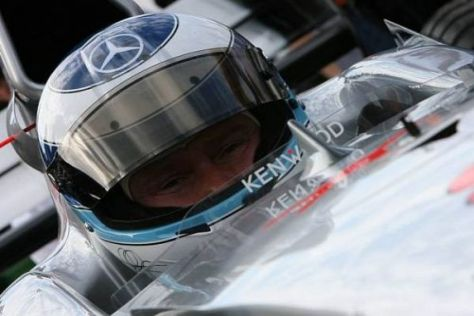 Mika Häkkinen zeigte sich am Wochenende in Hockenheim im Cockpit