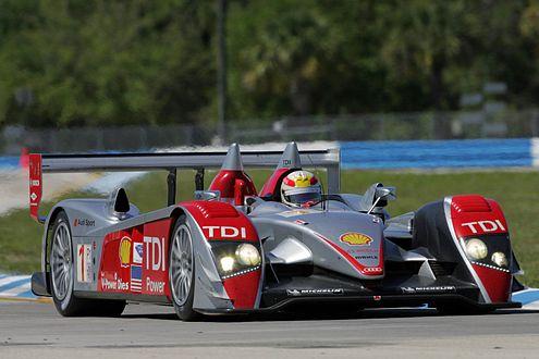Capello/Kristensen/McNish, die Vorjahressieger im Audi R10 TDI.