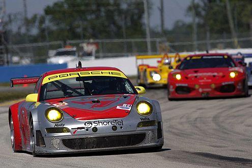 Titelverteidiger Jörg Bermeister mit dem Porsche 911 GT3 scheiterte knapp.