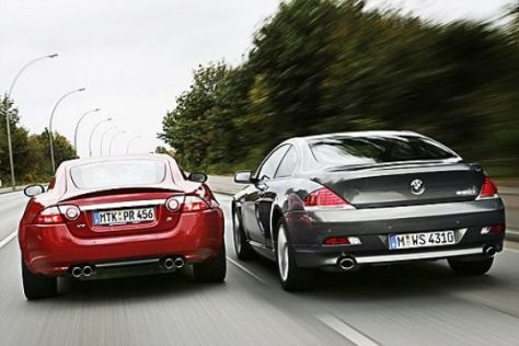 BMW 650i – Jaguar XKR