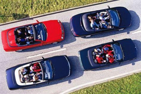 Gebrauchte Cabrios mit vier Sitzen