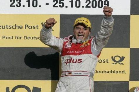 Timo Scheiders Jubelsprung: In diesem Jahr wurde er zum zweiten Mal Meister