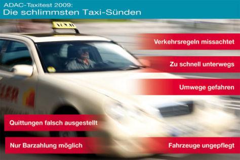 Die größten Taxi-Sünden