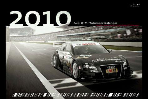 Deckblatt Audi-DTM-Kalender 2010
