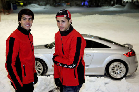 Ricardo Kaka und Cristiano Ronald