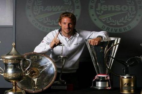 Jenson Button ist beim Saisonfinale in Abu Dhabi nicht mehr einzuholen