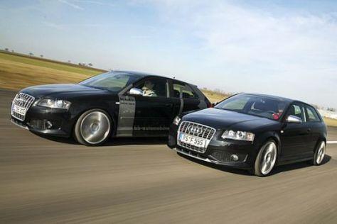Zwei getunte Audi S3 im Test