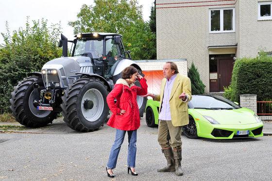 Ferruccio Lamborghini Jarama und Traktor