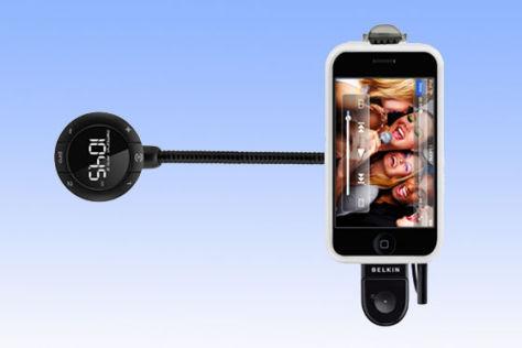 Belkin TuneBase mit iPhone