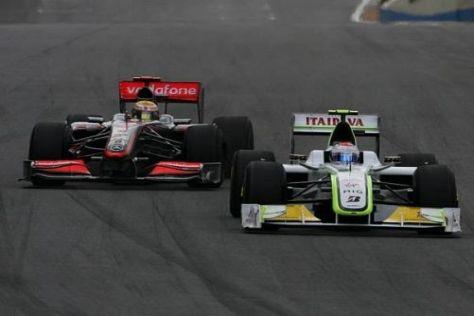 Barrichello gegen Hamilton: Muss die Tür einen Spalt breit geöffnet bleiben?