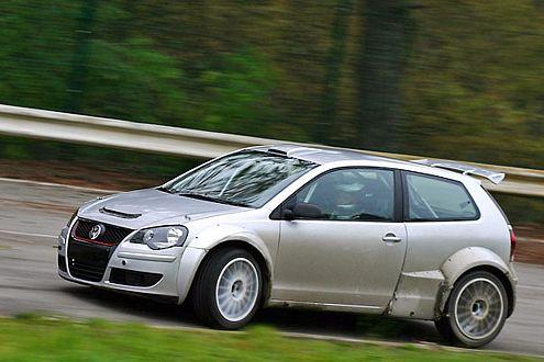 Vorreiter der S2000-Serie: Der Rallye-Polo ist in Südafrika unterwegs.