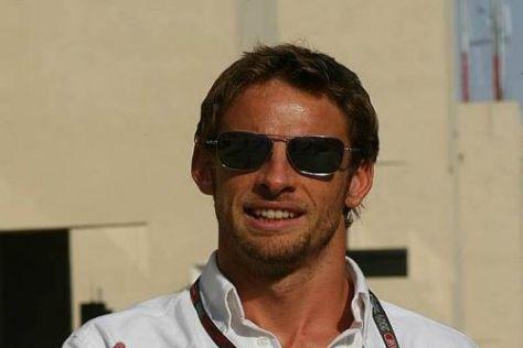 Der neue Champion: Jenson Button ist entspannt wie schon lange nicht mehr