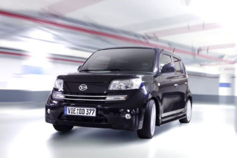 Daihatsu Materia 'black edition'