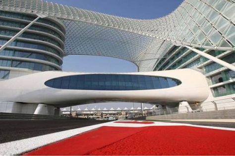 Die Strecke in Abu Dhabi setzt in der Formel 1 ganz neue Maßstäbe