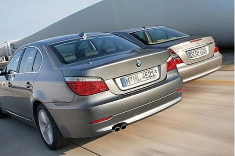 Test BMW 530i – Mercedes E 350