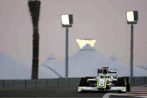 Jenson Button im 2. Freien Training zum Großen preis von Abu Dhabi