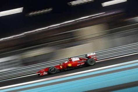 Kimi Räikkönen hätte gern ein etwas flotteres Auto