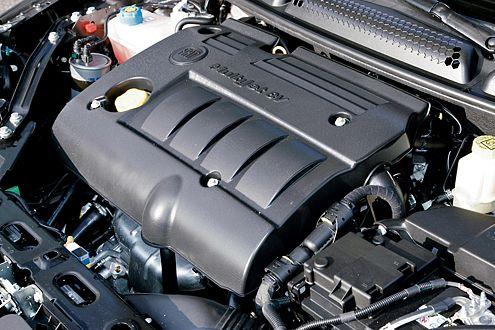 Der 120-PS-Diesel hält sich akustisch nicht im Hintergrund.