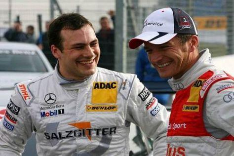 Rivalen der Rennbahn: Gary Paffett und Timo Scheider prägten 2009