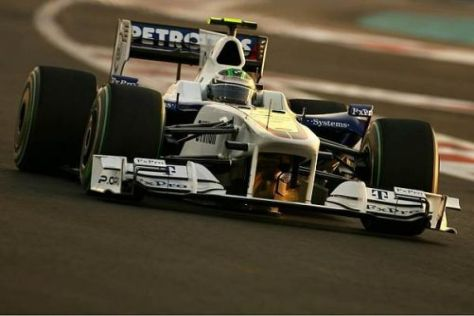 Nick Heidfeld möchte im letzten Rennen 2009 noch einmal punkten