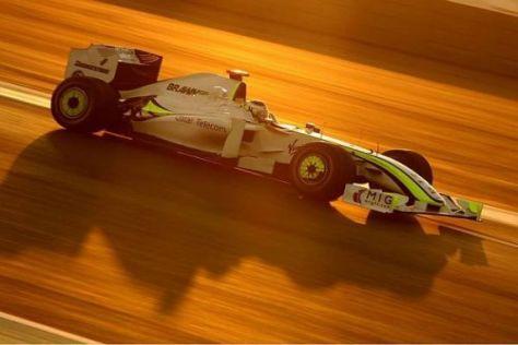 Jenson Button konnte im letzten Run nicht mehr entscheidend zulegen