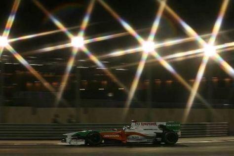 Adrian Sutil schaffte es im letzten Rennen nicht in die WM-Punkte