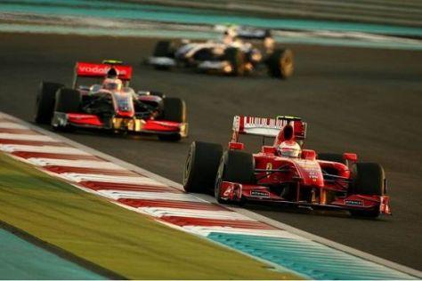 Kimi Räikkönen absolvierte sein letztes Rennen für Ferrari
