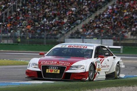 Tom Kristensen bestritt in Hockenheim sein letztes Rennen in der DTM