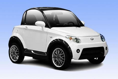 Elektroauto aus Hongkong: Der Zweisitzer Mycar