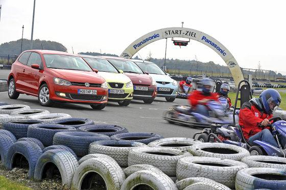 VW Polo Seat Ibiza SC Mazda2 Renault Clio