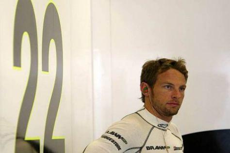 Jenson Button wird im neuen Jahr die Startnummer 1 auf seinem Auto haben