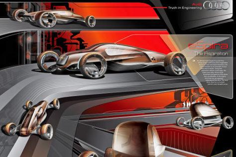 Audi-Beitrag zur Design-Challenge 2009