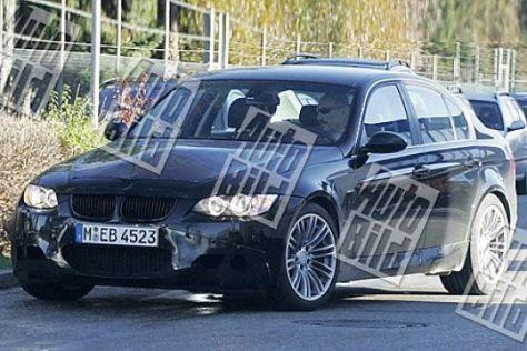 Erlkönig BMW M3 Limousine/Cabrio