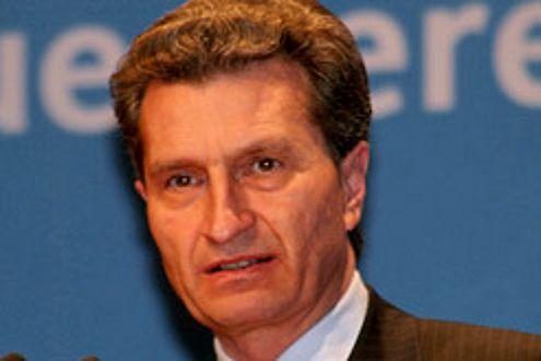 """Günther Oettinger (CDU): """"Die Kfz-Steuer ist ein Auslaufmodell!"""""""