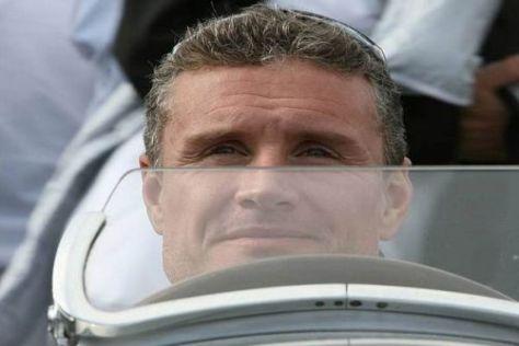 David Coulthard fuhr in Hockenheim Demorunden mit dem Silberpfeil