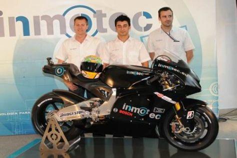 Die MotoGP-Madchine von Inmotec soll 2010 in Barcelona debüttieren