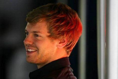 Sebastian Vettel war gestern zu Gast bei 'Wetten, dass..?' in Braunschweig