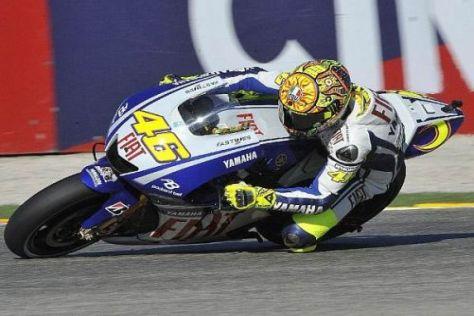 Valentino Rossi erreichte mit Platz zwei sein bestes Valencia-Ergebnis seit 2004