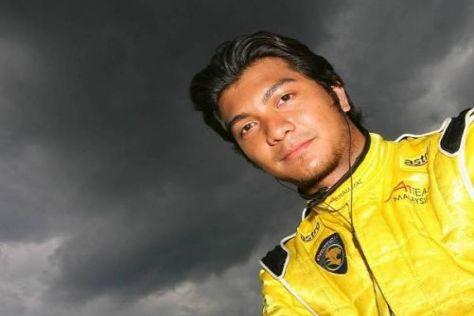 Fairuz Fauzy könnte 2010 bei Lotus landen - zumindest als Test- und Ersatzfahrer