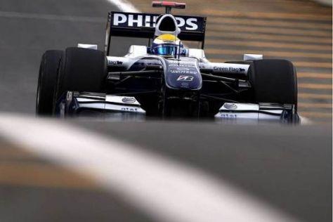 Nico Rosberg fuhr sich in seiner vierten Saison ins Formel-1-Rampenlicht