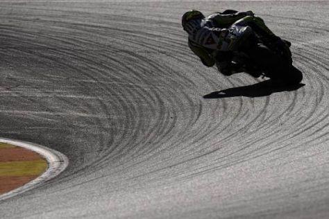 Ab in die Zukunft: Yamaha spulte in Valencia erste Testrunden für 2010 ab