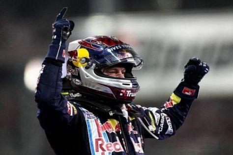 Vielfalt als Chance? Sebastian Vettel möchte auch 2010 wieder jubeln können