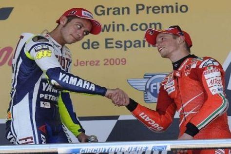 Starten Valentino Rossi und Casey Stoner ab 2011 für das gleiche Team?