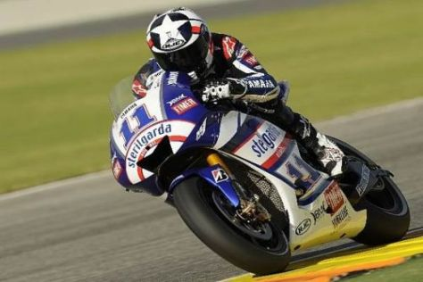Ben Spies ist in der MotoGP angekommen und nimmt immer mehr Fahrt auf...