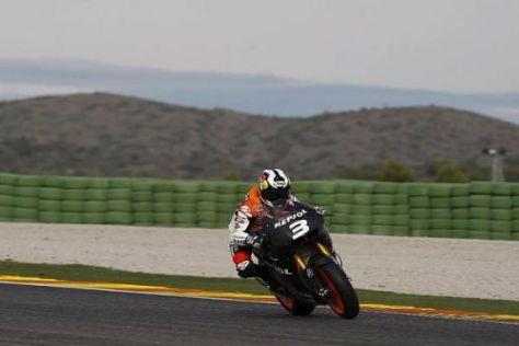 Dani Pedrosa stellte die Honda zum Abschluss der Tests auf den zweiten Rang