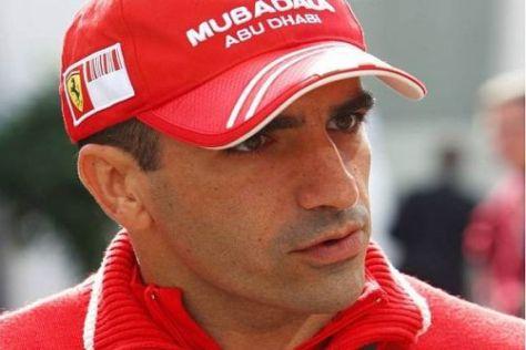 Testfahrer Marc Gené wird in Valencia einen Formel-1-Ferrari pilotieren