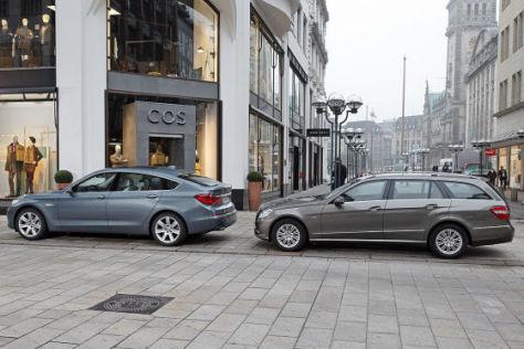 BMW 5er GT Mercedes E-Klasse T-Modell