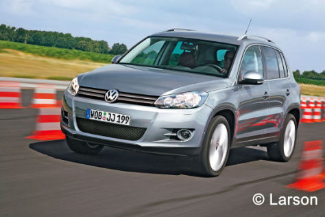 VW Tiguan (2011) Illustration
